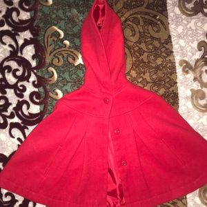 Used Gymboree Hooded Cape